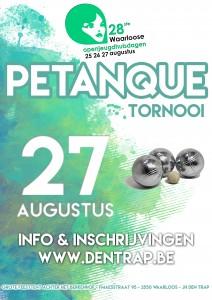 Petanque tornooi 2017